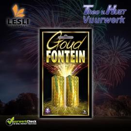 Goud Fontein (2 stuks, cat. 1)