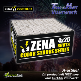 Zena Color Strobe Series (4 stuks)