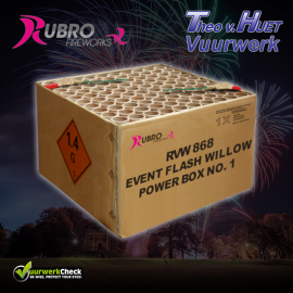 Event Flash Willow Power Box No1 100's
