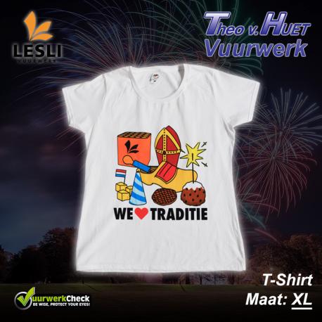 We Love Traditie - T-Shirt - XL