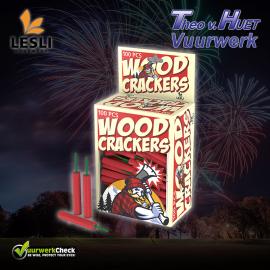 Woodcrackers (100 stuks) Cat. F1 OP is OP