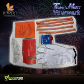 Junior veiligheidspakket met handschoen
